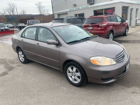 2004 Toyota Corolla for sale at Fairview Motors in West Allis WI