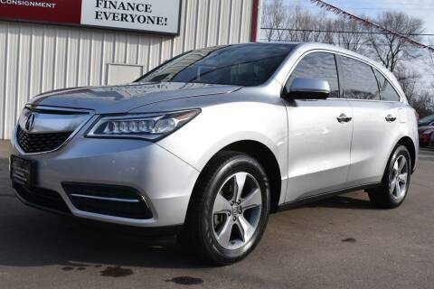 2014 Acura MDX for sale at Dealswithwheels in Inver Grove Heights MN