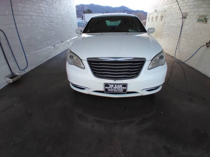 2013 Chrysler 200 for sale at De Kam Auto Brokers in Colorado Springs CO