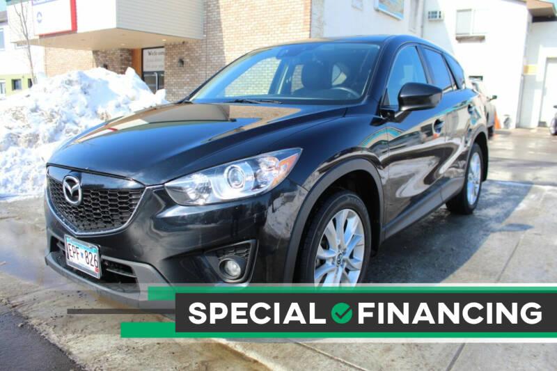 2014 Mazda CX-5 for sale at K & L Auto Sales in Saint Paul MN
