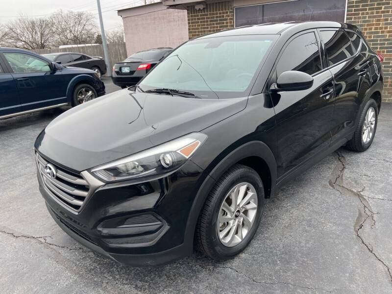 2016 Hyundai Tucson for sale at Kasterke Auto Mart Inc in Shawnee OK
