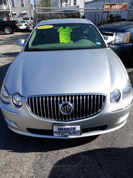 2009 Buick LaCrosse for sale at MERROW WHOLESALE AUTO in Manchester NH