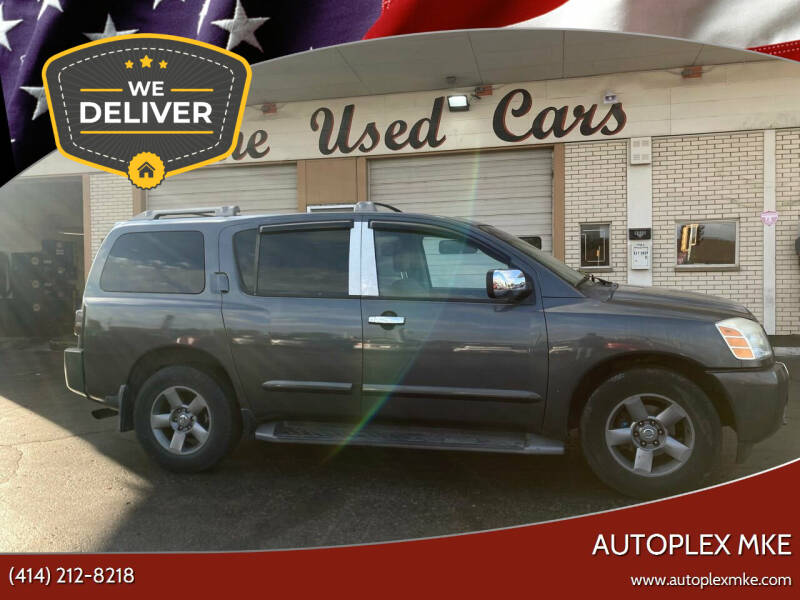 2004 Nissan Armada for sale at Autoplexwest in Milwaukee WI