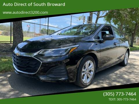 2019 Chevrolet Cruze for sale at Auto Direct of South Broward in Miramar FL