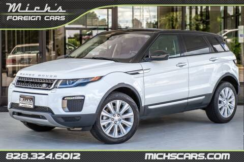 2016 Land Rover Range Rover Evoque for sale at Mich's Foreign Cars in Hickory NC