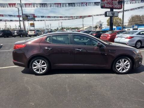 2013 Kia Optima for sale at Kenny's Auto Sales Inc. in Lowell NC