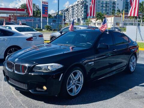 2012 BMW 5 Series for sale at CHASE MOTOR in Miami FL