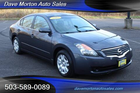 2007 Nissan Altima for sale at Dave Morton Auto Sales in Salem OR