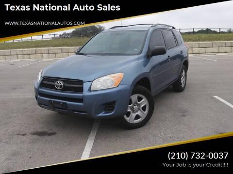 2012 Toyota RAV4 for sale at Texas National Auto Sales in San Antonio TX