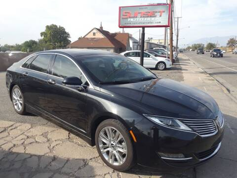 2015 Lincoln MKZ for sale at Sunset Auto Body in Sunset UT