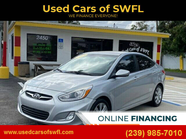 2014 Hyundai Accent for sale at Used Cars of SWFL in Fort Myers FL