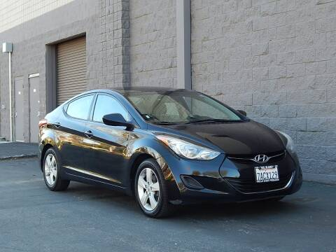 2013 Hyundai Elantra for sale at Gilroy Motorsports in Gilroy CA