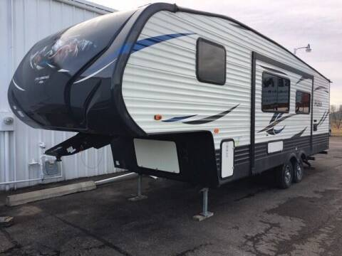 2018 Forest River 286R855 for sale at G & B  Motors in Havre MT