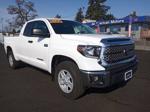 2020 Toyota Tundra for sale at All American Motors in Tacoma WA