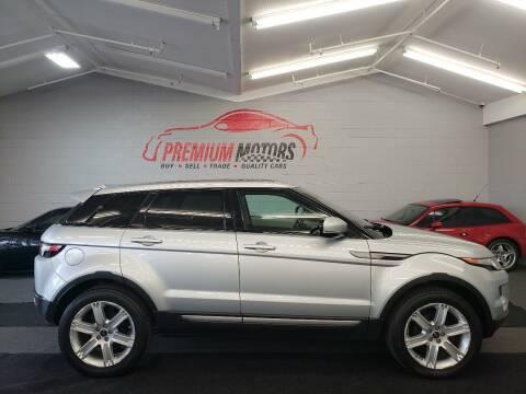 2013 Land Rover Range Rover Evoque for sale at Premium Motors in Villa Park IL