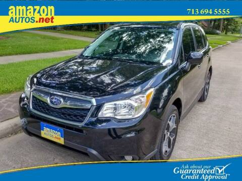 2014 Subaru Forester for sale at Amazon Autos in Houston TX