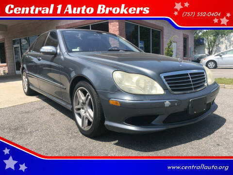 2006 Mercedes-Benz S-Class for sale at Central 1 Auto Brokers in Virginia Beach VA
