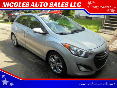 2013 Hyundai Elantra GT for sale at NICOLES AUTO SALES LLC in Cream Ridge NJ