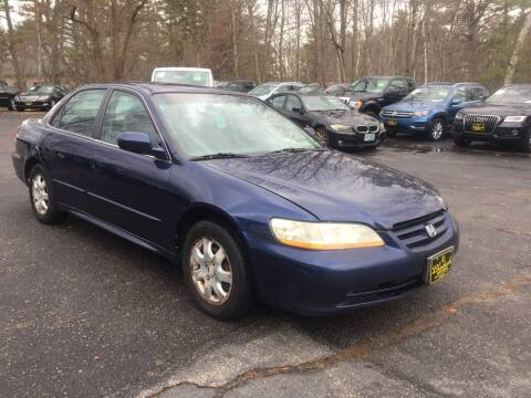 2002 Honda Accord for sale at Bladecki Auto in Belmont NH