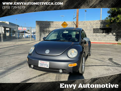 2005 Volkswagen New Beetle for sale at Envy Automotive in Studio City CA