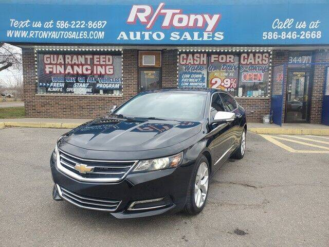 2016 Chevrolet Impala for sale at R Tony Auto Sales in Clinton Township MI