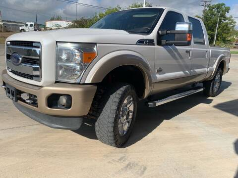 2012 Ford F-250 Super Duty for sale at K & B Motors LLC in Mc Queeney TX