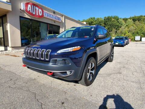 2015 Jeep Cherokee for sale at Auto Wholesalers Of Hooksett in Hooksett NH