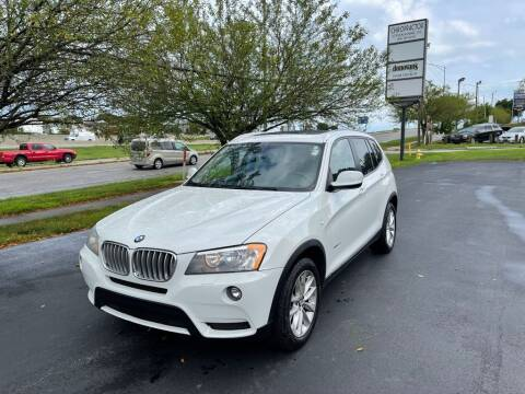 2014 BMW X3 for sale at Auto Hub in Grandview MO