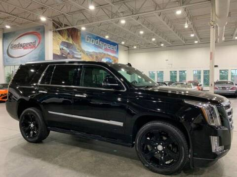 2016 Cadillac Escalade for sale at Godspeed Motors in Charlotte NC