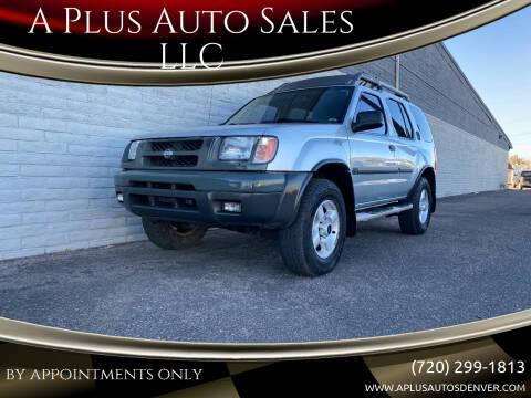 2001 Nissan Xterra for sale at A Plus Auto Sales LLC in Denver CO