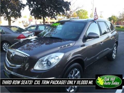 2008 Buick Enclave for sale at Oak Hill Auto Sales of Wooster, LLC in Wooster OH