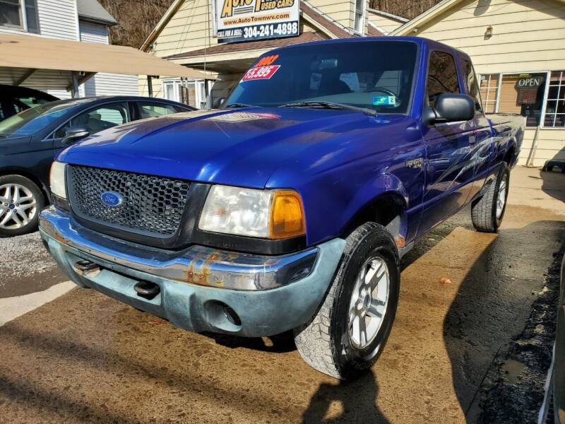 2003 Ford Ranger for sale at Auto Town Used Cars in Morgantown WV
