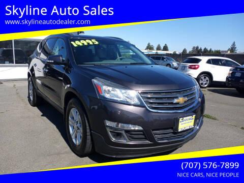 2013 Chevrolet Traverse for sale at Skyline Auto Sales in Santa Rosa CA