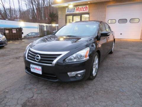 2013 Nissan Altima for sale at Auto Match in Waterbury CT
