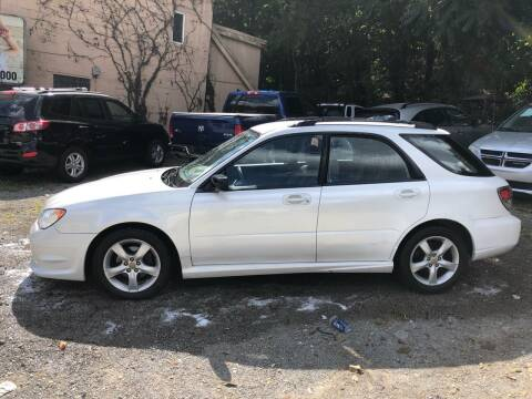 2007 Subaru Impreza for sale at Compact Cars of Pittsburgh in Pittsburgh PA