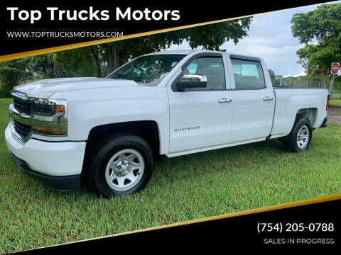2016 Chevrolet Silverado 1500 for sale at Top Trucks Motors in Pompano Beach FL