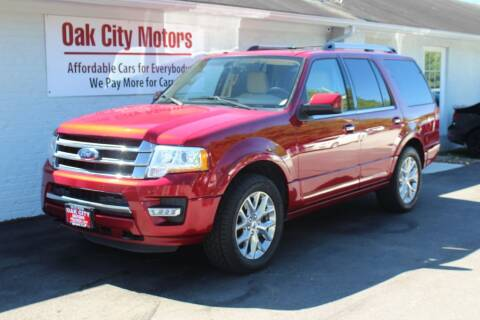 2015 Ford Expedition for sale at Oak City Motors in Garner NC