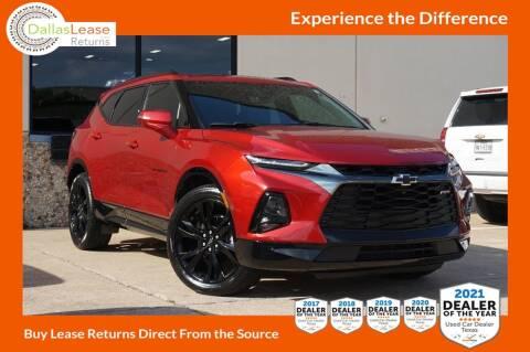 2019 Chevrolet Blazer for sale at Dallas Auto Finance in Dallas TX