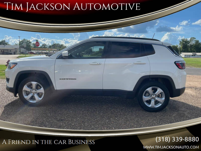 2017 Jeep Compass for sale at Tim Jackson Automotive in Jonesville LA