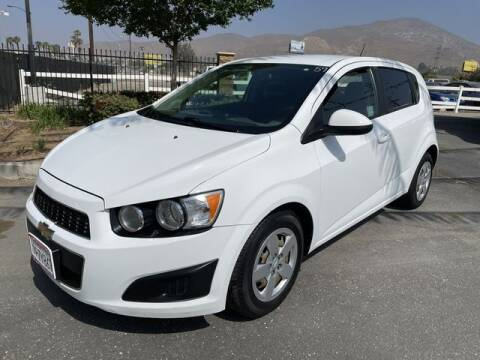 2016 Chevrolet Sonic for sale at Los Compadres Auto Sales in Riverside CA
