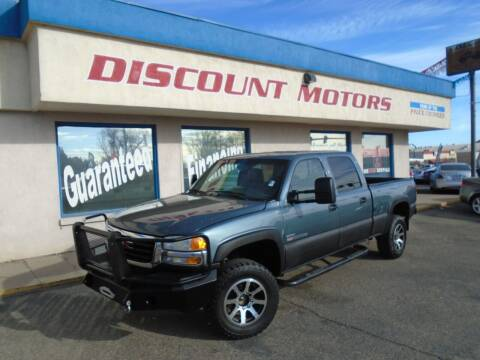 2007 GMC Sierra 2500HD Classic for sale at Discount Motors in Pueblo CO