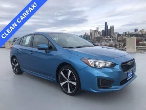 2017 Subaru Impreza for sale at Honda of Seattle in Seattle WA