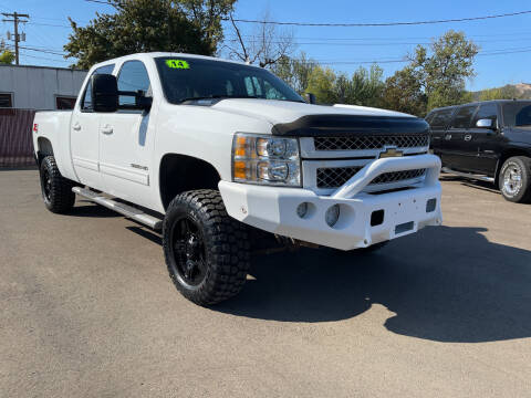 2014 Chevrolet Silverado 3500HD for sale at City Center Cars and Trucks in Roseburg OR