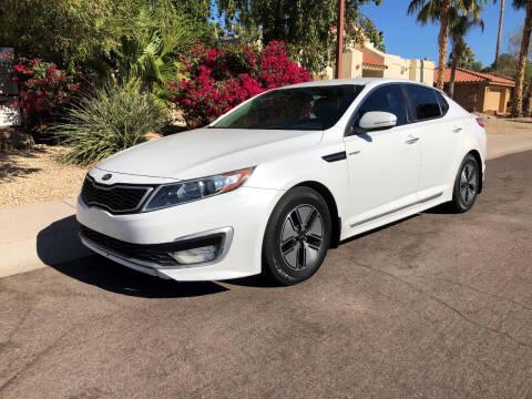 2013 Kia Optima Hybrid for sale at Arizona Hybrid Cars in Scottsdale AZ