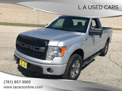 2013 Ford F-150 for sale at L A Used Cars in Abington MA
