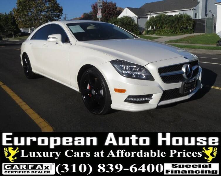 2013 Mercedes-Benz CLS for sale at European Auto House in Los Angeles CA