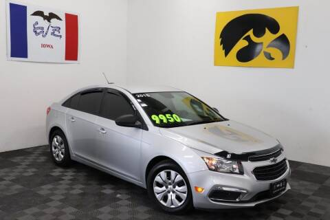 2015 Chevrolet Cruze for sale at Carousel Auto Group in Iowa City IA