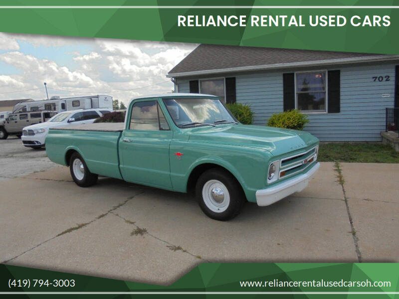1967 Chevrolet C/K 10 Series for sale at Reliance Rental Used Cars in Maumee OH
