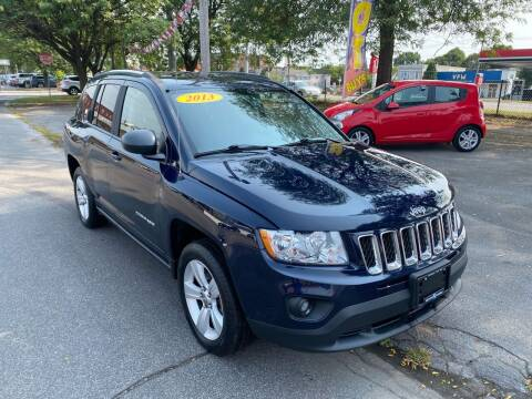 2013 Jeep Compass for sale at Midtown Autoworld LLC in Herkimer NY