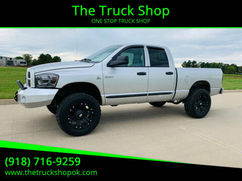 2007 Dodge Ram Pickup 2500 for sale at The Truck Shop in Okemah OK